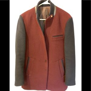 Other - The wool high end Men's Fashion slim fit Coat